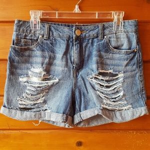 Almost Famous High-Waisted Denim Shorts